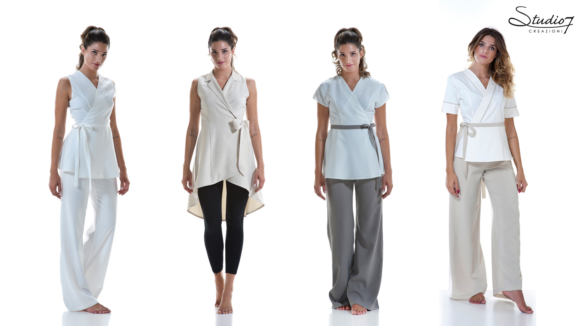 Professional clothing for beauty and wellness centers