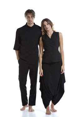 Abbigliamento Professionale Per Parrucchieri e Estetica - Sweater Achille e Trouser Alessandro | Coat Angelica e Trouser Chimera
