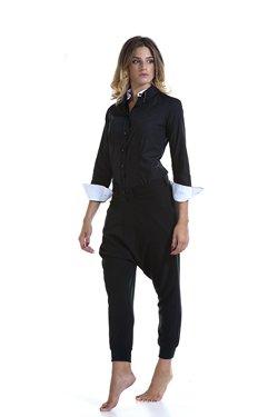 Abbigliamento Professionale Per Parrucchieri e Estetica - Shirt Doppio Collo Lisa e Trouser Maia
