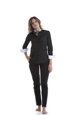 Abbigliamento Professionale Per Parrucchieri e Estetica - Shirt Lisa Doppio Collo