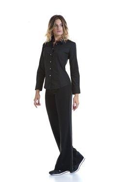 Abbigliamento Professionale Per Parrucchieri e Estetica - Shirt Lisa Doppio Collo Trouser Ester