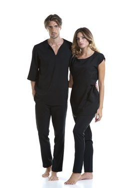 Abbigliamento Professionale Per Parrucchieri e Estetica - Sweater Cesare e Trouser Alessandro | Sweater Ambra e Trouser Noemi