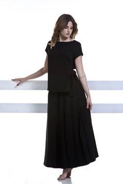 Abbigliamento Professionale Per Parrucchieri e Estetica - Dettaglio Sweater Rossella e Kilt