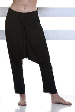 Abbigliamento Professionale Per Parrucchieri e Estetica - Trouser Camilla In Crep Black