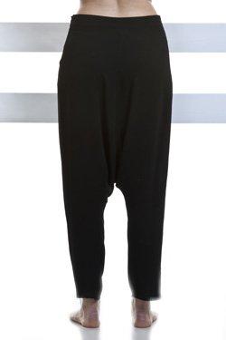 Abbigliamento Professionale Per Parrucchieri e Estetica - Trouser Camilla In Crep Black Back