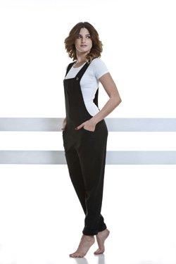 Abbigliamento Professionale Per Parrucchieri e Estetica - Suit Ottavia Salopette Fianco