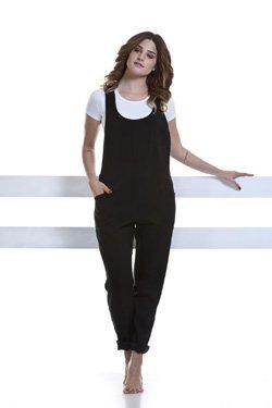 Abbigliamento Professionale Per Parrucchieri e Estetica - Suit Ottavia Scollo Rotondo Black
