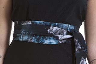 Fusciacca Bea Peony Azzurra - Studio7Creazioni