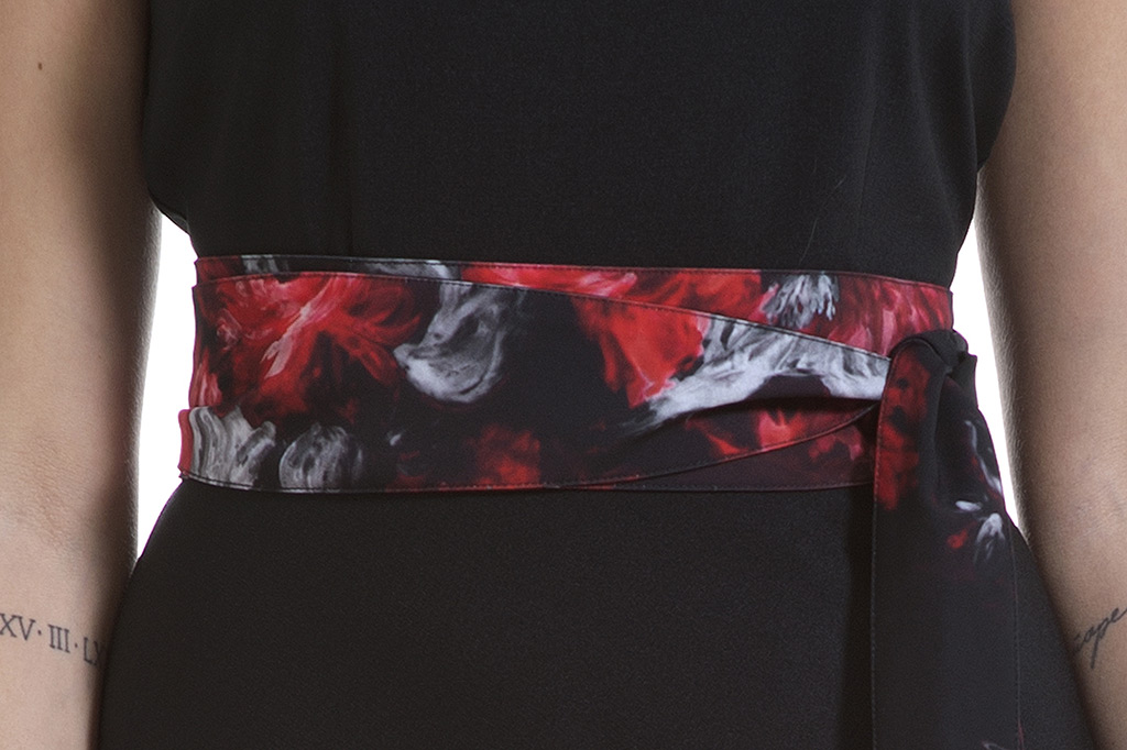 Fusciacca Bea Peony Rossa - Studio7Creazioni