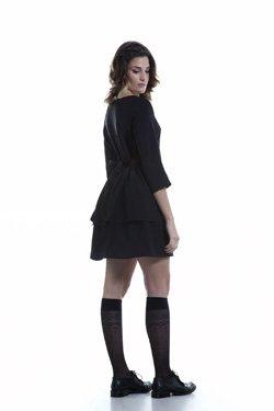 Abbigliamento Professionale Per Parrucchieri e Estetica - Abito Rachele Fianco
