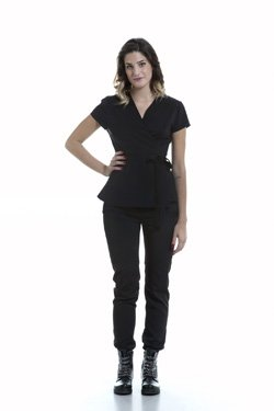 Abbigliamento Professionale Per Parrucchieri e Estetica - Coat Sveva Sleeve Short Trouser Noemi